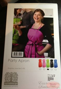 Nytta Design Party Apron Review & Giveaway (WW) - Simply Stacie