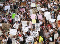 #YoSoy132 ....Marcha por la veracidad en los medios.