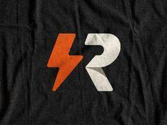 View on Dribbble Logo Inspiration, Gymnastics Logo, Electricity Logo, Carta Logo, Logo Branding, Branding Design, Typographie Logo, Logo Luxury, Lightning Logo