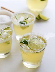 hello, summer . . . ginger beer margaritas • how sweet eats