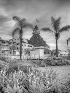 Coronado Hotel San Diego Black and white by FengShuiPhotography Modern Photography, Vintage Photography, Black And White Photography, San Diego, Infrared Photography, Hotel Del Coronado, Beautiful Images, Fine Art America, California