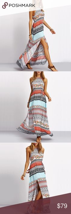 Long Beach holiday maxi dress Available size XS/00-0, S/2-4, M/6-8, L/8-10 Dresses Maxi