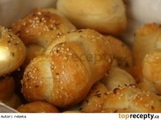 Czech Recipes, Ciabatta, Pavlova, Pretzel Bites, Pizza, Baking, Vegetables, Basket, Breads