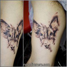 #tattoo #dog #collie #selfie #tattooist #illustration #artwork #sketch #ink #artist #watercolor #trashpolka #tattooidea #drawing #inkmaster #tattooartist
