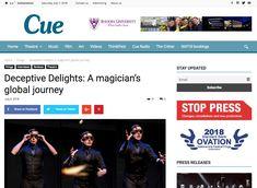"Cue: ""Deceptive Delights: A magician's global journey"" Music Film, Art Festival, The Magicians, Interview, Campaign, Journey, Content, Medium, News"