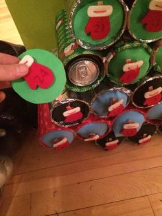 Beer Can Advent Calendar
