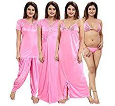 Women's Sleepwear, Sleepwear Women, Nightwear, Girls Night Dress, Night Gown, Lingerie Set, Women Lingerie, Indian Women Painting, Baby Memes