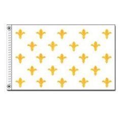 Fleur-de-Lis Flag, H23FLEUR35