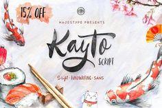 Kayto + Extras 15% Off by dexsarharryfonts on @creativemarket