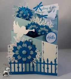 CC360 TLC362 Angels and Dragonflies_lb by Clownmom - Cards and Paper Crafts at Splitcoaststampers