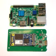 Inside the mSata USB3 SSD used in the Raspberry Pi fileserver. https://www.arduino-board.com/rpi/fileserver