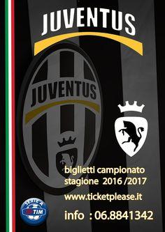 """Acquista il tuo biglietto la miglior posizione """" BIGLIETTI CAMPIONATO 2016/2017 """" Tutte le partite disponibili  info line: 068841342 www.ticketplease.it mail: info@ticketplease.it La nostra sede: via Viterbo n.6, Roma. Spediamo in tutta Italia con Bartolini. #juve #juventus @juventusfcen @juventusfces @juventusfcid @juventusfcjp @juventusfc #SerieA #SerieATIM"""