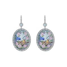 """Axenoff Jewellery » Earrings """"Easter Birds"""""""