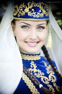 Tatar Türk kızları