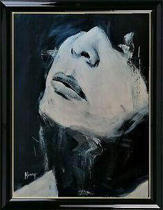 La Femme 4 , abstrakt, Acryl auf Papier acrylic, unicum,   40,6x30,5cm | Antiquitäten & Kunst, Kunst, Malerei | eBay! Ebay, Portrait, Artwork, Painting, Paper, Art Types, Abstract, Painting Art, Work Of Art