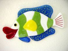 Fused+Glass+Funky+Artist | funky island glass of wine far out fish fused glass