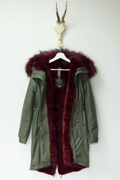 DEVIL FASHION Cruella Cappotto Donna Lungo Giacca Nero Rosso gotico con cappuccio pelliccia vintage