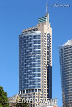 Chifley Tower in Sydney, Australia - second tallest building in Sydney at 791 feet high;  image by Wilson Ling