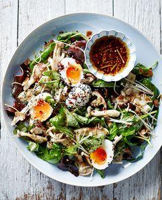 Asian Mushroom Salad - Pete Evans