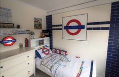 British Decor, Mind The Gap, London Underground, Corner Desk, Kids Rugs, Bedrooms, Furniture, Home Decor, Corner Table