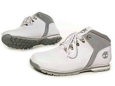 Barato Timberland Hombres Botas - Timberland Botas de monte Blanco Gris  Timberland Chukka Boots a1e9a0c95a9