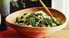 Oven Roasted Broccoli Recipe : Alton Brown : Food Network