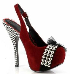 Pin up girl heels with a naughty side!