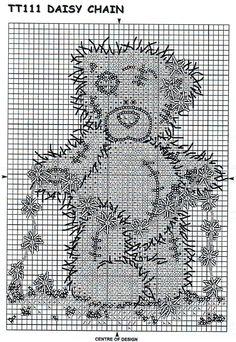 Tatty bear - daisy chain 2
