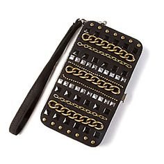 Studs and Chains Smartphone Wristlet