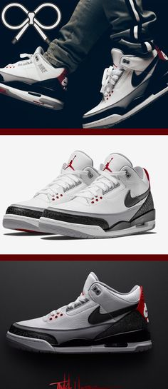 e629017700c9 Based on the original Air Jordan 3 sketch by Tinker Hatfield.