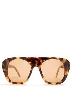 Aviator acetate sunglasses    Marques'Almeida   MATCHESFASHION.COM