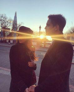 Luke Pasqualino and his girlfriend Maddison Jaizani  Credits: Maddison Jaizani Ig