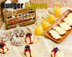 Hunger Games Party Ideas...love!!