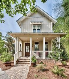 Sea Nest, coastal cottage home plan. Archiscapes, Freeport, FL.... | Georgiana Design | Bloglovin'