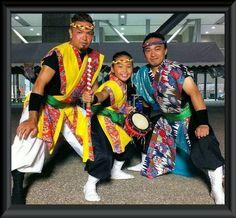 Masaki,Ruon and Masakatsu Yonaha