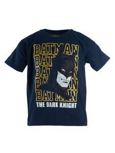 Warner Bros Boys Little Batman 3 Piece Short Set