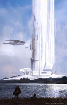 concept ships: Concept ships by Dmitry Vishnevsky