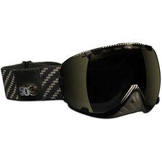 Snowboard carbon fibre goggles