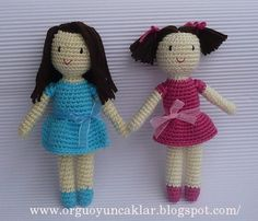 örgü oyuncak bebek, amigurumi doll by orguoyuncaklar, via Flickr