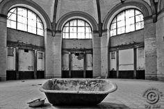 Beelitz Heilstätten Badehaus - Heilanstalt in Brandenburg