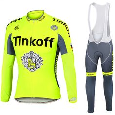 34.38$  Buy now - http://alimnh.shopchina.info/go.php?t=32794158174 - 2017 Fluorescent Green Cycling jersey bike pants set winter thermal fleece team bicycling tops bottoms maillot Culotte  #aliexpresschina