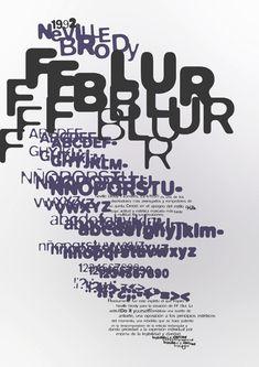 Neville Brody: FF Blur