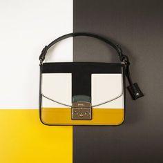 Furla Metropolis color block. bag, сумки модные брендовые, bags lovers, http://bags-lovers.livejournal