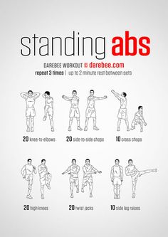 Standing Abs Workouts