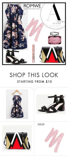 """""""Romwe 6"""" by amra-f ❤ liked on Polyvore featuring Urban Decay, L'Oréal Paris and Gucci"""