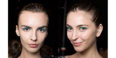 maquiagem para o verão 2017 com delineador colorido