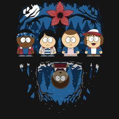 The Stranger Things gang gets a South Park-inspired makeover Stranger Things Quote, Stranger Things Netflix, Cartoon Network, Star Wars, Travel Themes, Princesas Disney, South Park, Mobile Wallpaper, Pop Art