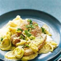 Creamy mustard pork Recipe | delicious. Magazine free recipes