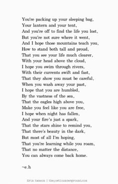 Erin Hanson. This may be my favorite poem of hers…it's one of my favorite poems ever.
