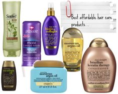 Best Hair Products for Healthy Hair: Drugstore Edition |